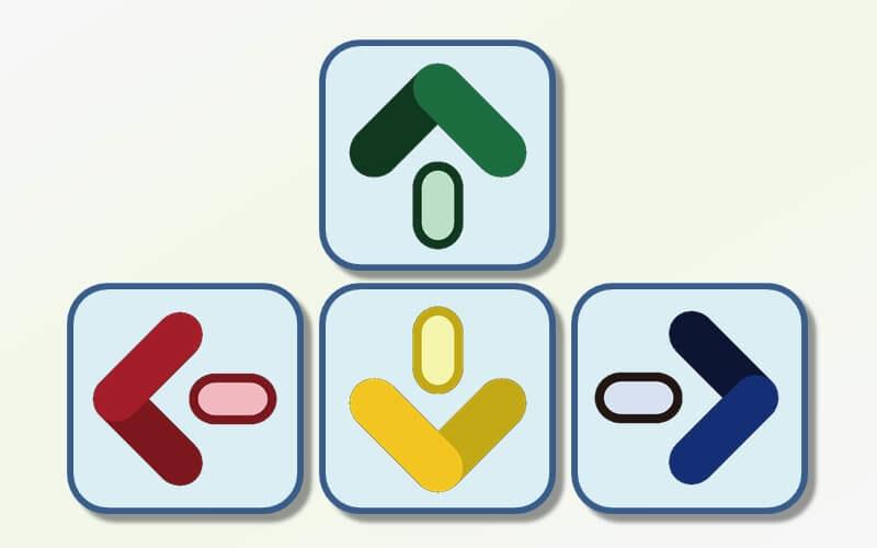 エクセルで矢印(十字)キーを押してもカーソルが動かない時の対処方法