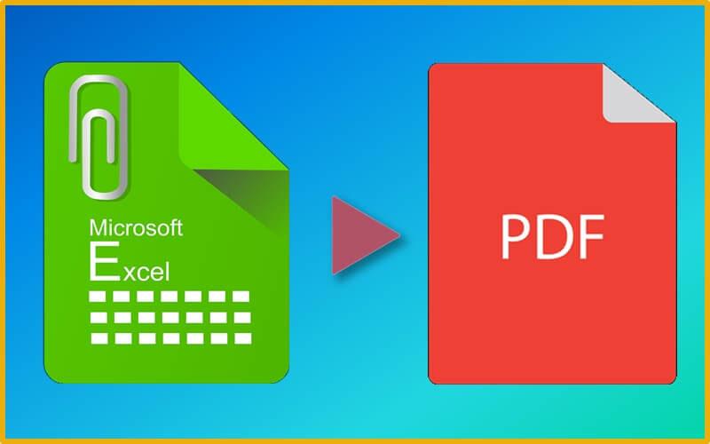 エクセルをPDFに変換(出力)する2つの方法